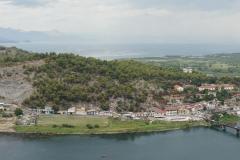 Panorama toward Shkodër lake