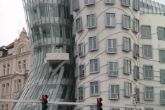"""Ginger & Fred"" - the dancing building"