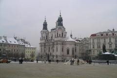 A frosty Staroměstské náměstí