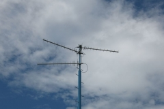 Communication: aerials at water works above Noszvaj