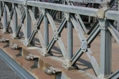 Budapest's Chain Bridge over the Danube