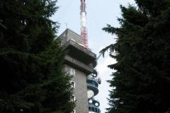 Old and new: the TV towers on Kékestető