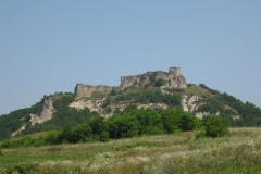 The ruins of Sirok's 14th-century castle