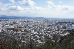 Kyoto from above