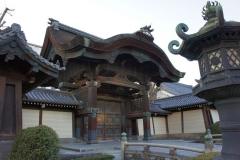 Higashi Honganji gate