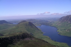 Crummock Water from the top of Red Pike