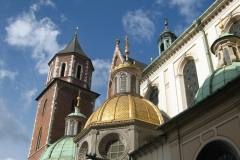 The impressive architecture of Wawel Cathedral