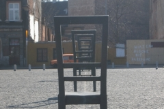 Chairs of remembrance: Bohaterów Getta Square