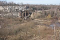 Nature regains control of Liban quarry