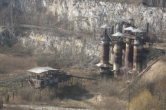 Industrial buildings in Liban quarry