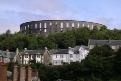 McCaig's folly dominates the Oban skyline