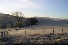 A frosty morning at Candybank