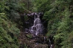 Waterfall in the Queen Elizabeth Forest Park