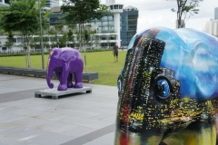 Singapore Skyline and Wisdom
