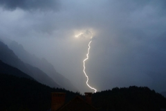 Lightning in Kranjska Gora 1