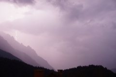 Lightning in Kranjska Gora 2