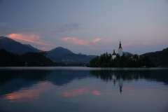 Dusk over Lake Bled 3