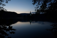 Dusk over Lake Bled 4
