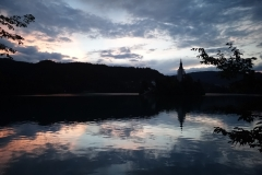 Dusk over Lake Bled 2