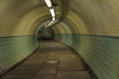 The Tyne cyclist and pedestrian tunnels