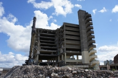 Demolition of Get Carter's carpark
