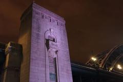 The towers of the Tyne bridge
