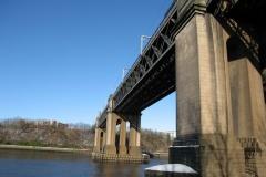 Looking North along King Edward VII bridge