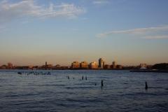 Sun on the Hudson