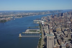 Hudson River from above